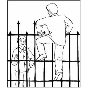 Climb the fence or be imprisoned behind it