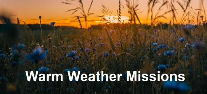 Spiritual Tips for Warm Weather Missions